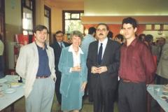 Miembros del Grupo de Investigación con la Profesora Alice Warley del Kings College