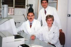 Profesora Sánchez Quevedo, Profesor Antonio Campos y Profesor Ismael Rodríguez de Buenos Aires