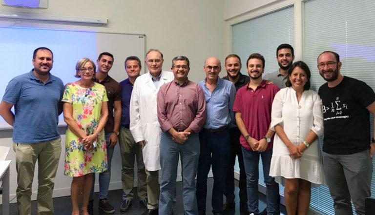 El Profesor Sebastián Sanmartin de la Universidad de Valparaiso imparte una conferencia en el Departamento de Histología sobre las Plataformas de Innovación en Salud en Chile