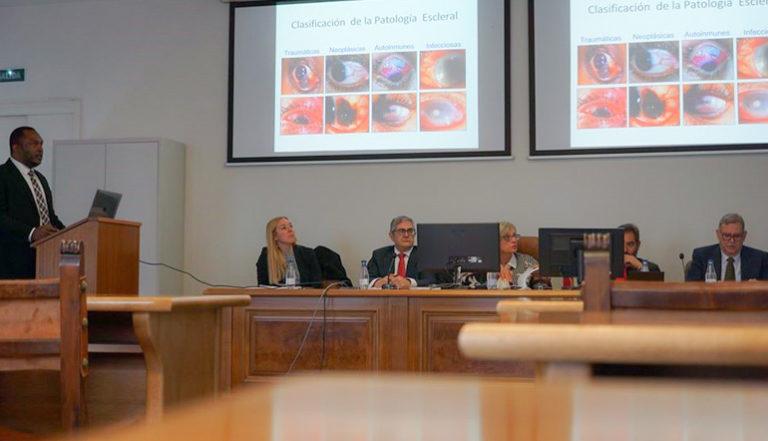 Investigadores del Grupo de Ingeniería Tisular del Departamento de Histología generan sustitutos bioartificiales de escleótica. Los resultados se exponen en una tesis doctoral y se publican en la Revista Experimental Eye Research